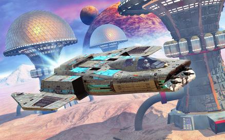 chalalyt - spaceship