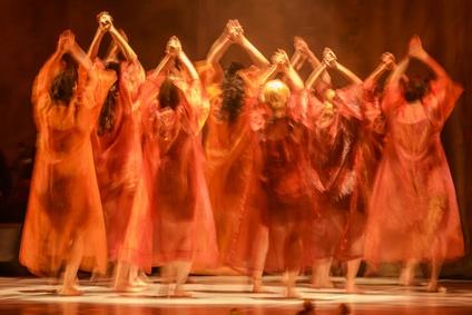 Modern Dance in Hebrew