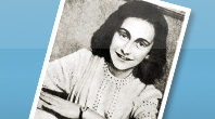 Anne Frank. Photo taken from the Yad Vashem Website.