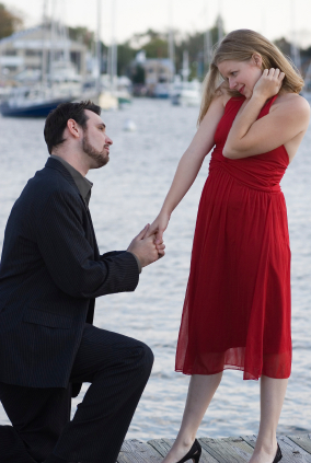 Proposal On One Knee