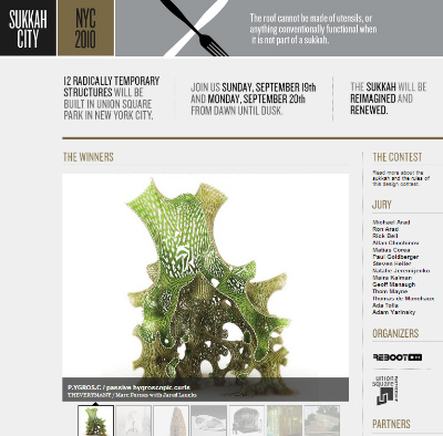 a screenshot of sukkahcity.com