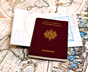 Passport - in Hebrew - darkon