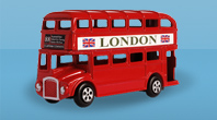 London Bus - otobus be-London