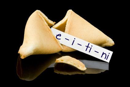 Fortune Cookie--e-i-ti-ni