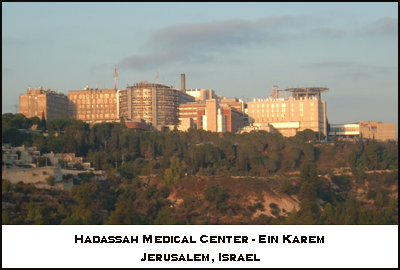 Hadassah Medical Center - Ein Karem